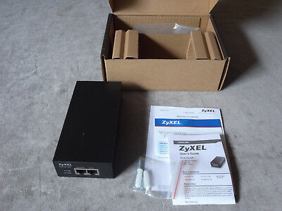 Zyxel PoE12-HP mains powered 802.3af/at PoE injector - boxed!