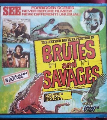 Brutes And Savages X Rated 400Ft Super 8 Col / Snd