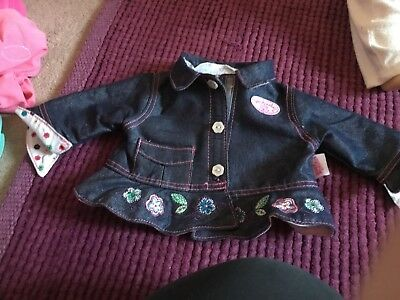 Baby Annabell Jacket/Coat