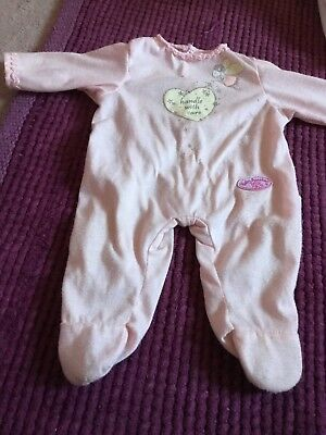 Baby Annabell Sleepsuit