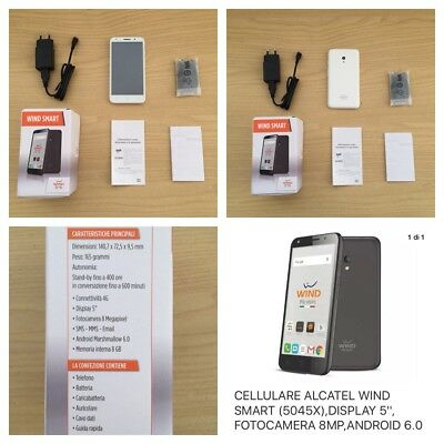 Smarthphone Alcatel One-touch 5045X Full White
