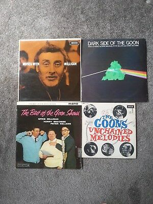 The Goons & Spike Milligan Vinyl Bundle