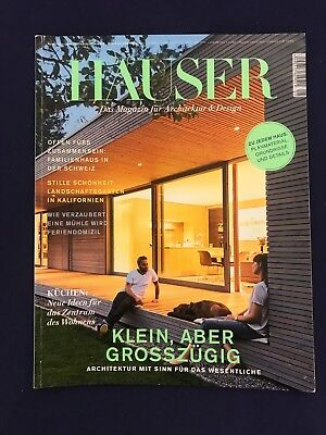 h user 6x das magazin f r architektur design 2016 eur 1 00 picclick de. Black Bedroom Furniture Sets. Home Design Ideas