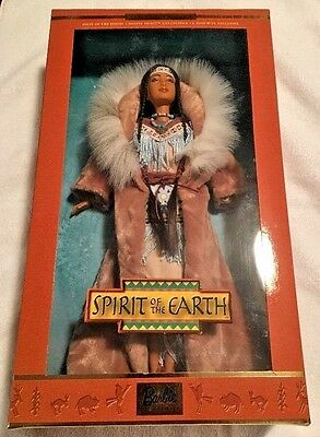 Spirit Of The Earth Barbie FIRST in Series Native Spirit Collection By Mattel