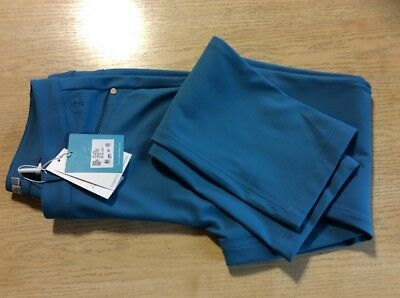 Green Lamb Ladies Thermo Wind Barrier Winter Trousers Size 10 Light Blue