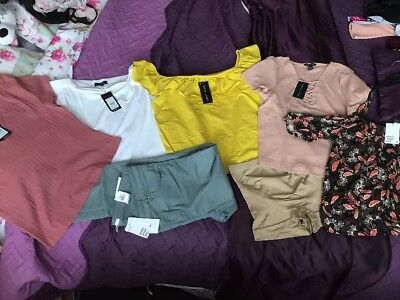 Bundle Of Ladies Clothes Size 18 New With Tags H&M And NewLook
