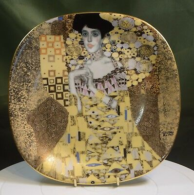 Two Bradford Exchange Collectors Plates - Gustav Klimt Collection