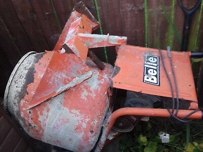 Belle electric cement  mixer  240v with stand