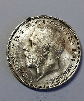 1918  British Silver One Florin  Coin - George  V.