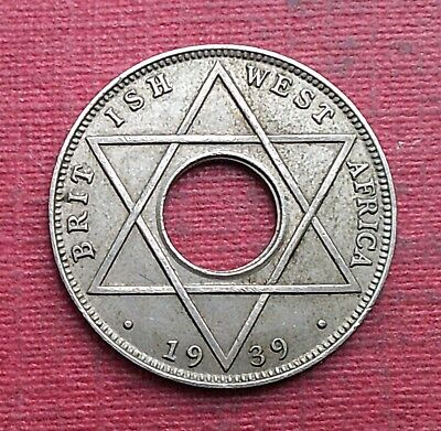 British West Africa. 1/10 Penny 1939.