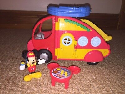 Mickey Mouse Club House Campervan Set