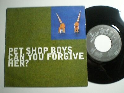 PET SHOP BOYS Can You Forgive Her? GERMANY 45 1993