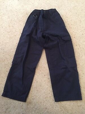 Dark Blue Cubs Trousers 7-8 - cubs scouts outfit