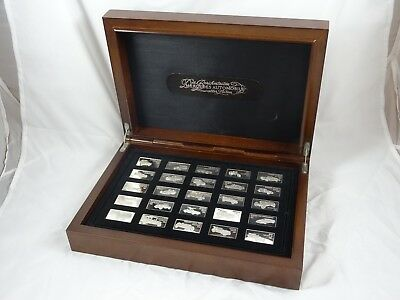MERCEDES ( Car ), solid silver boxed INGOTS, c1970, 430gm