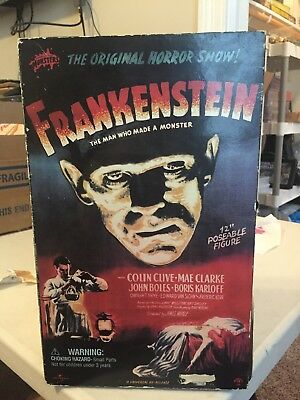 """Sideshow Collectibles Universal Monsters 12"""" Frankenstein's Monster MIB"""
