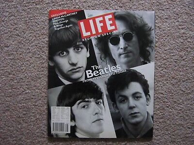 "Life Magazine ""reunion Special"" The Beatles 1995."