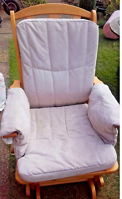 Maternity Glider / Rocking Chair with Stool