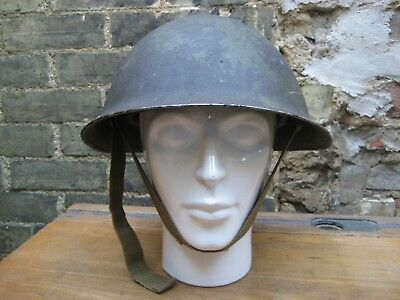 WW2 British Army Mk 3 helmet with RE formation sign