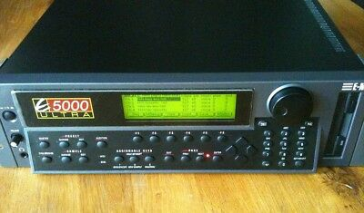 EMU E5000-Ultra Sampler mit 128MB-RAM, HD, CD-ROM und 21 Sample-CDs