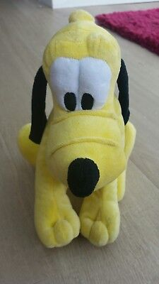 Disney sitting Pluto from mickey mouse  soft toy