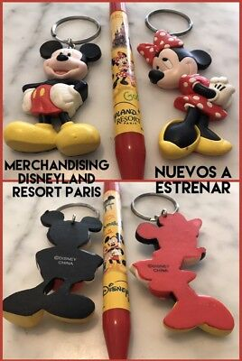 Exclusivo Merchandising Disneyland Resort Paris Mickey Mouse Coleccionistas
