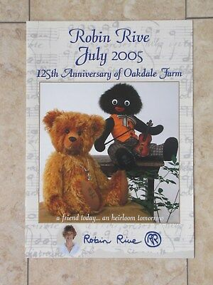 Original Robin Rive Collection Catalogue For July 2005