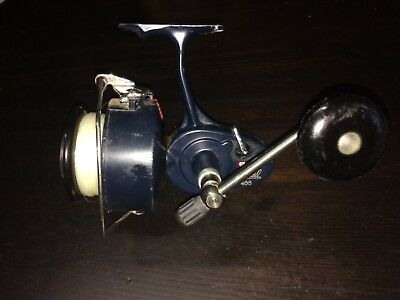 Vintage Mitchell 488 Deep Sea Fishing Reel - No Bail Snap Back - AS - IS