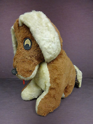 Plush Toy Stuffed Dog Vintage Mary Meyer Musical Plays Rockabye Baby Children