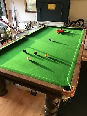 3/4 Size Snooker Table (9.6ft X 5ft)