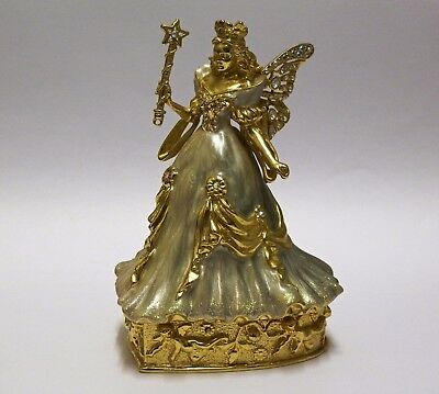 Stunning Kirks Folly Fairy Angel Trinket Box