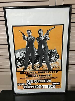 HICKEY AND BOGGS 1972 Bill Cosby Robert Culp film poster