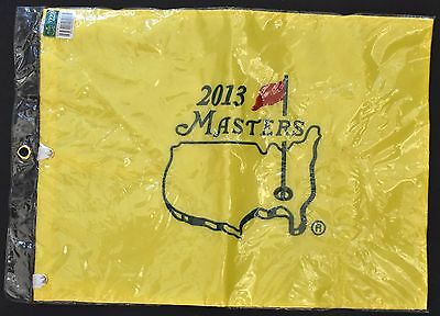 Masters Tournament pin flag collector's item from 2013 tournament