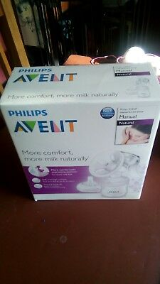 Sealed boxed advent manual breast pump