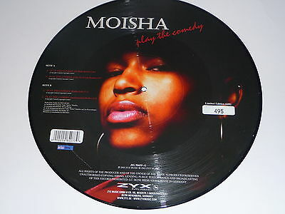 "Picture Vinyl MOISHA Play "" The Comedy "" Neu"