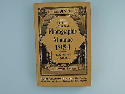 The 1954 British Journal of Photography Almanac