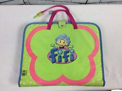 Fifi and the Flowertots Magnetic Playset - 3 Scenes + 65 Figures + Carry Case