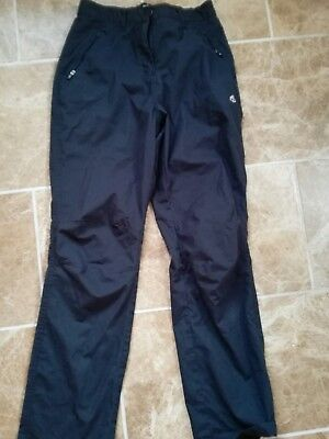 Craghoppers wimwns mavy blue outdoor trousers size 10