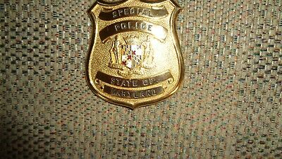 Obsolete Maryland Special Police Badge 1970's