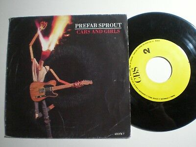 PREFAB SPROUT Cars And Girls SPAIN 1-SIDE PROM0 45 1988
