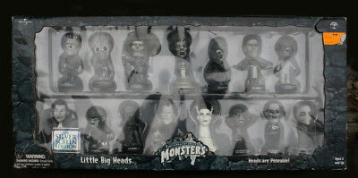 Silver Screen UNIVERSAL MONSTERS - Little Big Heads - Never Opened - 1st Edition
