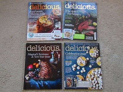 Delicious Magazine Baking/cooking ~ Issues July October November December