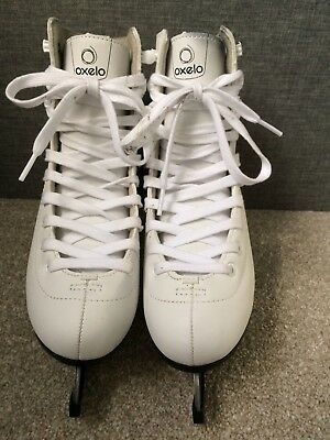 Oxelo Ice Skates Size 4 Excellent Condition