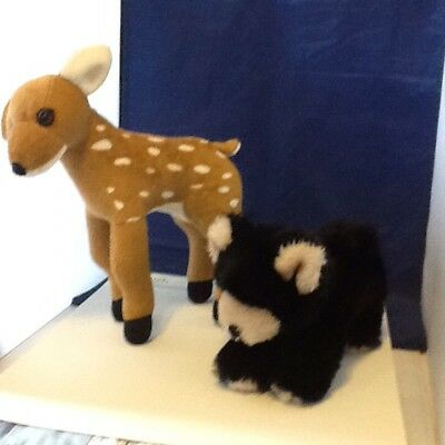 American Girl Kayas Plush Animals,Deer,And Bear,See Pictures