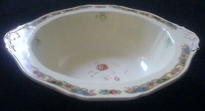 Alfred Meakin Cream / Floral Detail Serving Dish / bowl 12 inch