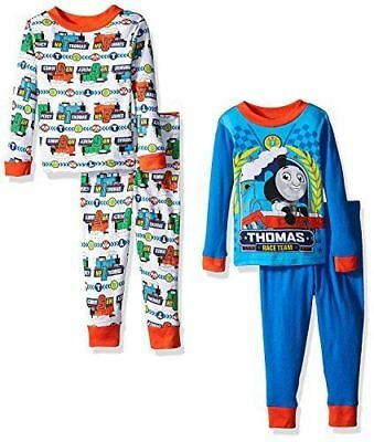 Boys Thomas the Train 4-Piece Pajama Set Size 2T New with Tags