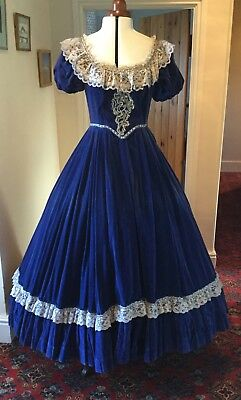 Victorian Style Ballgown Theatrical Stage Dress Costume