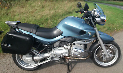 BMW R1150R, 2001, Metallic Blue