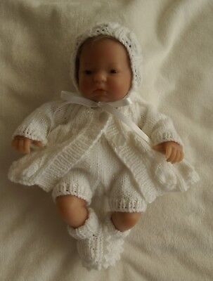"Hand Knitted Dolls Clothes To Fit a 9/10"" Doll"