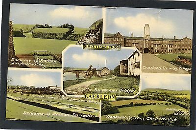 CAERLEON, Multi-View, Gwent, WALES.  Includes Training College.