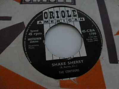 The Contours Shake Sherry Northern Soul Xo On Oriole Very Nice